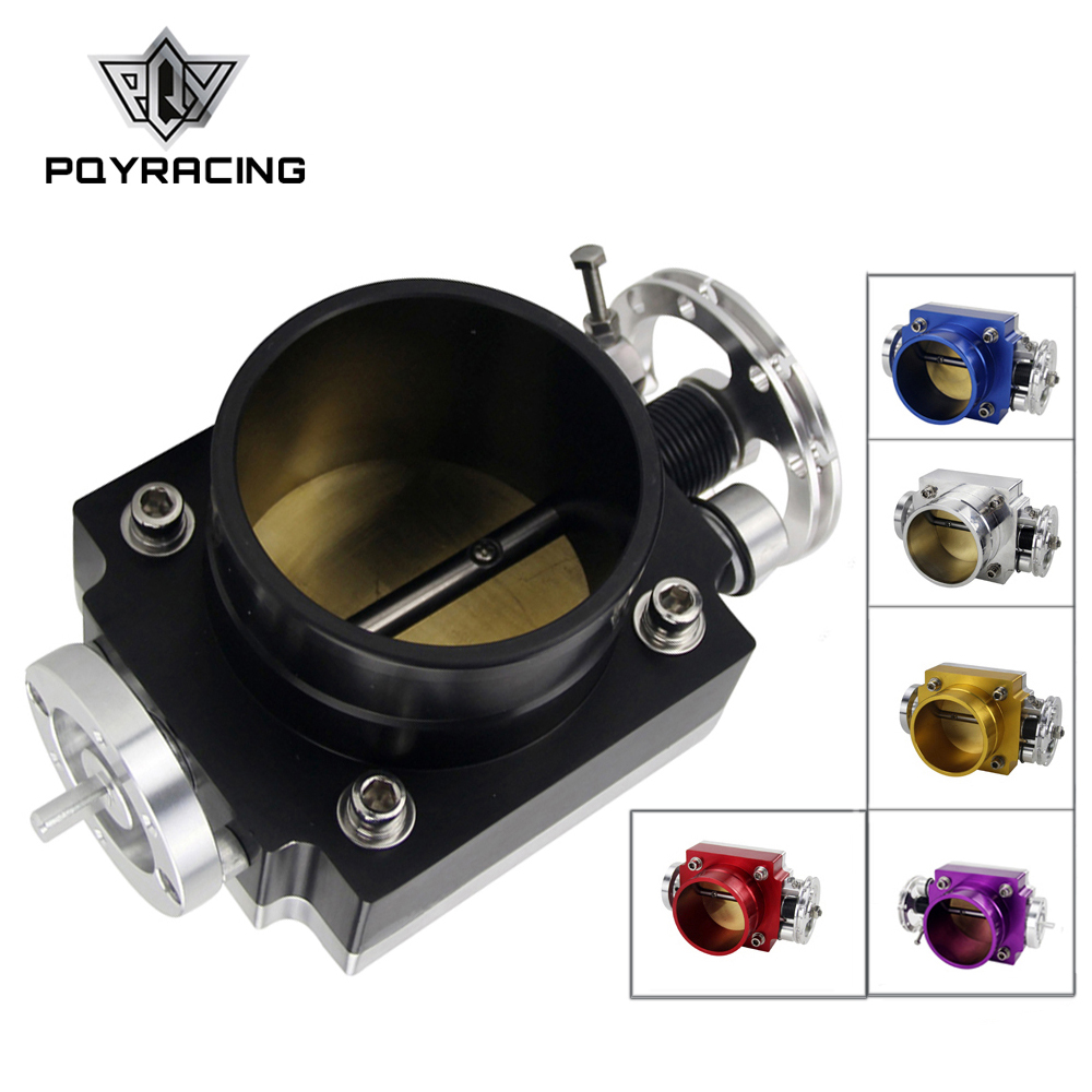 PQY - NEW 65MM THROTTLE BODY PERFORMANCE INTAKE MANIFOLD BILLET ALUMINUM HIGH FLOW PQY6965 pqy racing free shipping new 90mm throttle body performance intake manifold billet aluminum high flow pqy6990