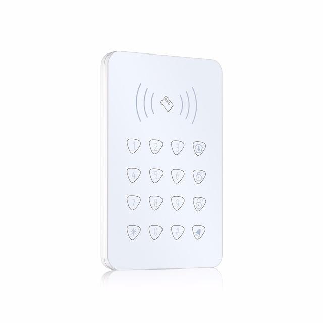 Función 433 MHz RFID RFID teclado Táctil inalámbrica Para Sistema de Alarma de Seguridad Inicio Uso G90B G90E