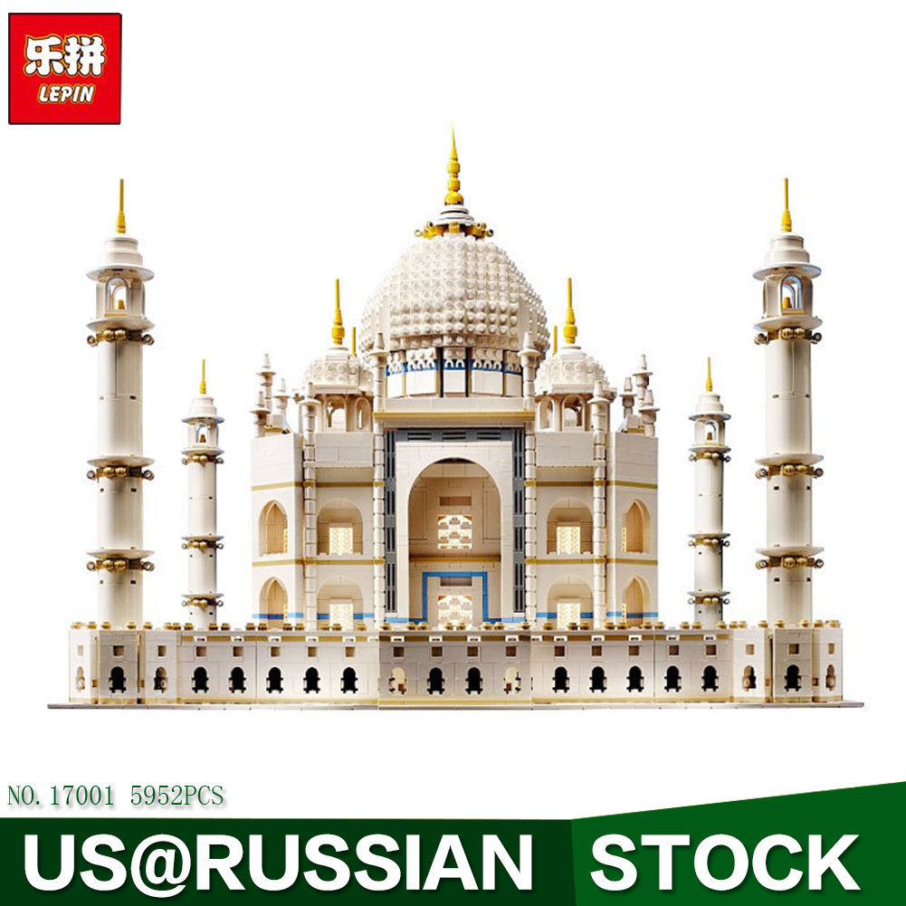 LEPIN 17001 City Street Creator The Tai Mahal Model Building Kits Assembling Brick Toys Compatible 10189 lepin 15018 3196pcs creator city series sunshine hotel model building kits brick toy compatible christmas gifts