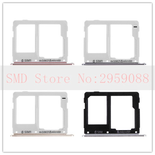 Dual SIM Micro SD Card Tray Slot For Samsung Galaxy A3 A310 A5 A510 A7 A710 2016 Card Reader Holder
