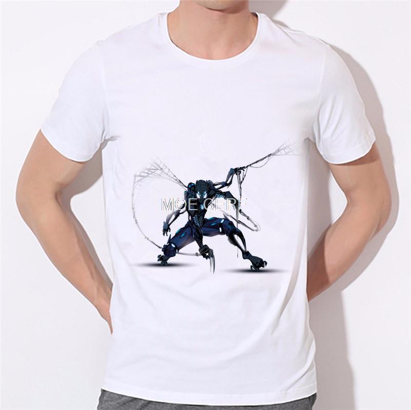 Painted fashion new men's T-shirt Super Hero Clothing T Shirt Men Boy T-Shirt Marvel Movie Tshirt Moe Cerf 17-11#