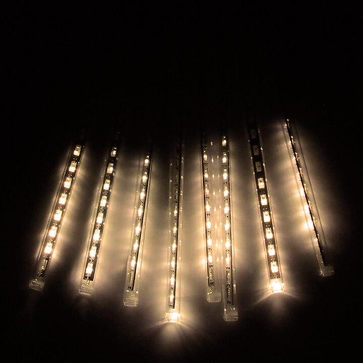 80LED Kalėdų šviestuvai Lauko užuolaidos Led styginiai žibintai - LED Apšvietimas - Nuotrauka 5