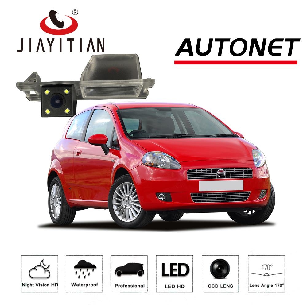JiaYiTian Rear View Camera For Fiat Grande Punto 199 310 Avventura / Abarth Punto CCD Night Vision backup camera Reverse camera