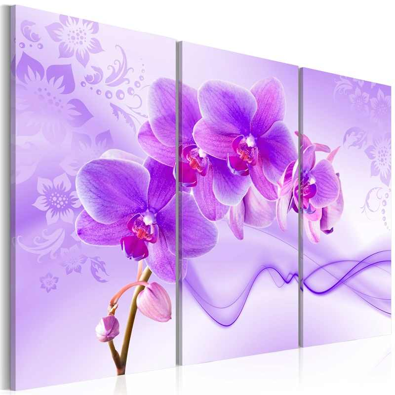 Wholesale 3 Pieces/set Beautiful floral poster Wall Art For Wall Decor Home Decoration Picture Painting PJMT-B (174)