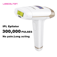 Permanent Epilator Painless Laser Facial Armpit Limbs Bikini Hair Removal Instrument 300000 Pulse Home Laser Hair Removal Device