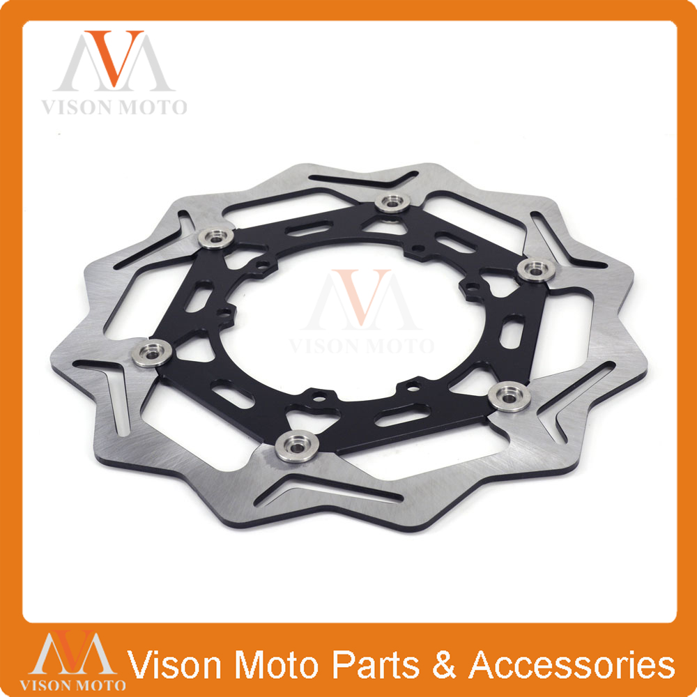 Motorcycle 270MM Front Brake Discs For Honda  CR125 CR250 CRF250R CRF250X CRF450R CRF450X CRF230F CR500 CRF Motorcycle Enduro ahl motorcycle brake front pads for honda crf 150 230 250 450 motorbike parts fa185 crf 230 f l m 08 15