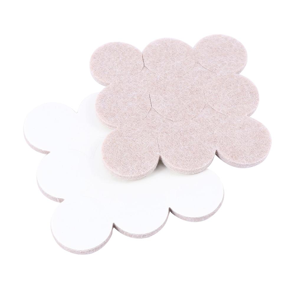 18PCS Self Adhesive Furniture Leg Feet Rug Felt Pads Anti Slip Mat Bumper Damper For Chair Table Protector Home & Living Hot