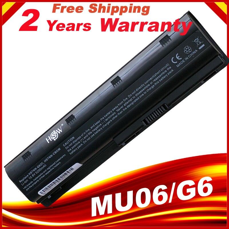 Batterie d'ordinateur portable pour HP 430 431 435 630 631 635 636 650 Notebook PC MU06 593554-001