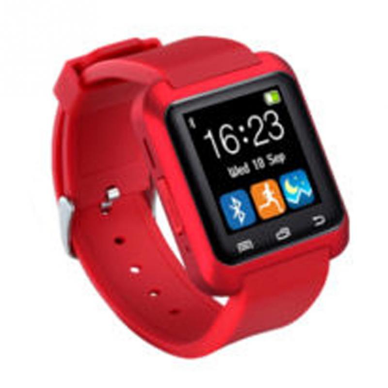 Men Women U8 U80 Bluetooth Smart Watch Fashion Casual Sport Wrist LED Digital Watch Hands-free Call For iOS/Android Phones