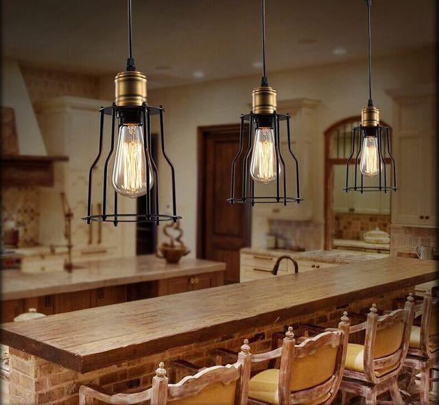 Design Scandinave Lampes Rh Style Loft Entrepôt Industriel Salle à