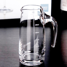 High Borosilicate Food Grade Glass Wine Decanter Measuring Cup Pot Kettle 350ml, 500ml, 1200ml For Option