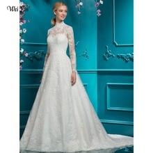 wei yin weiyin Robe De Mariee Vintage Wedding Dresses 2018