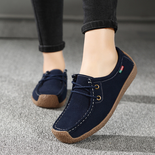 Women Flats Comfortable Summer Loafers Women Shoes  4