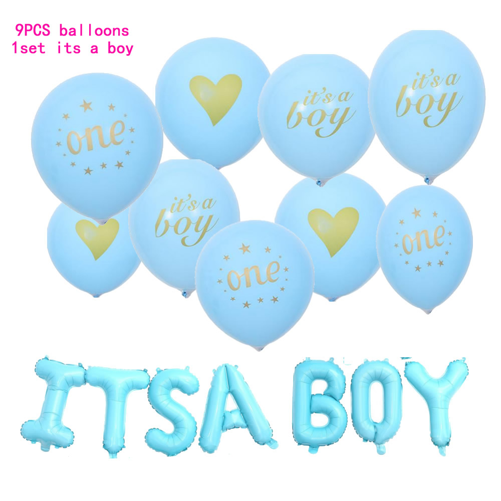 Its A Boy Its A Girl Baby Shower Party Decorations Quotits A