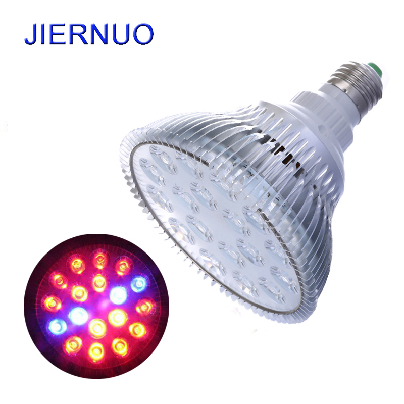 54w Flower Led Light E27 Ac85 265v Full Spectrum Led Plant Grow Lamp