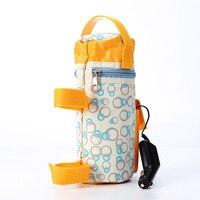 スマート多機能断熱哺乳瓶ヒーター食品ウォーマーカークーラーヒーターボトル旅行ーベビーミルクウォーマーバッ