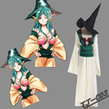 Magi The Labyrinth of Magic Yamuraiha Cosplay Costume wig All Sizes Custom Made