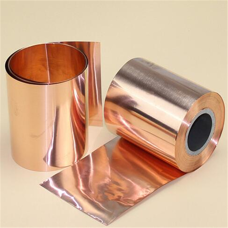 100mm width 1 meter length 99.95% Purity Pure Copper Cu Metal Sheet Foil copper belt Mainly Used in Electromagnetic Shielding 1pc high purity copper plate cu metal foil sheet 0 1x200x1000mm best price for power tool accessories