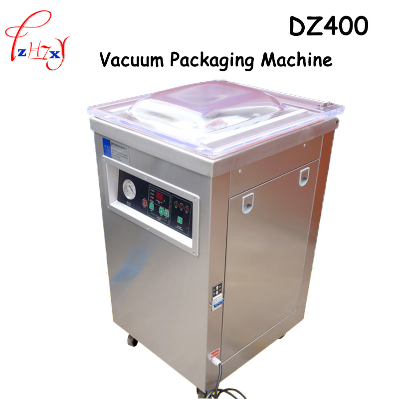 1pc 220V 1000W Commercial DZ400 304stainless steel deepened single chamber vacuum packaging machine commercial rolling vacuum marinated machine ka 6189 electric vacuum marinated chicken bacon machine 220v 20w