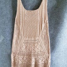 Robe Plage Knitted Beach Cover