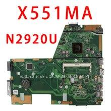 Для ноутбука ASUS материнская плата N2920U X551MA F551MA R512MA D550MA REV2.0 100% полностью протестирована