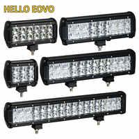 Hola EOVO LED Bar 5D 4/6,5/9,5/12 17 pulgadas LED luz Bar Offroad barco coche Tractor camión 4x4 SUV ATV conducción LED luz de trabajo