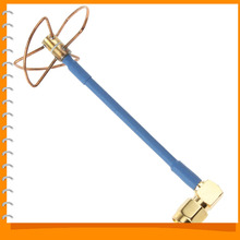 FPV 5 8Ghz 5 8g 3 Blade Circular Polarized Clover Leaf Antenna High Gain Aerial for