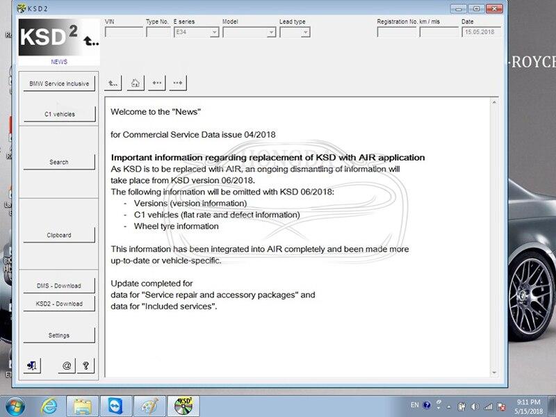 Newest V2018 05 ISTA for BM W ICOM A2+B+C WIFI ICOM P