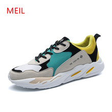 MEIL men shoes mens casual male light lace -up sneakers chaussure homme trainer sales tufli tenis