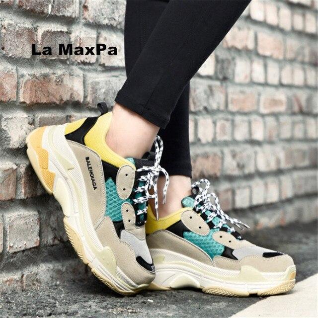 2018 женская обувь кроссовки мужские и женские уличные сетки спортивные туфли женщина бренды унисекс кроссовки zapatillas mujer размер 35- 46