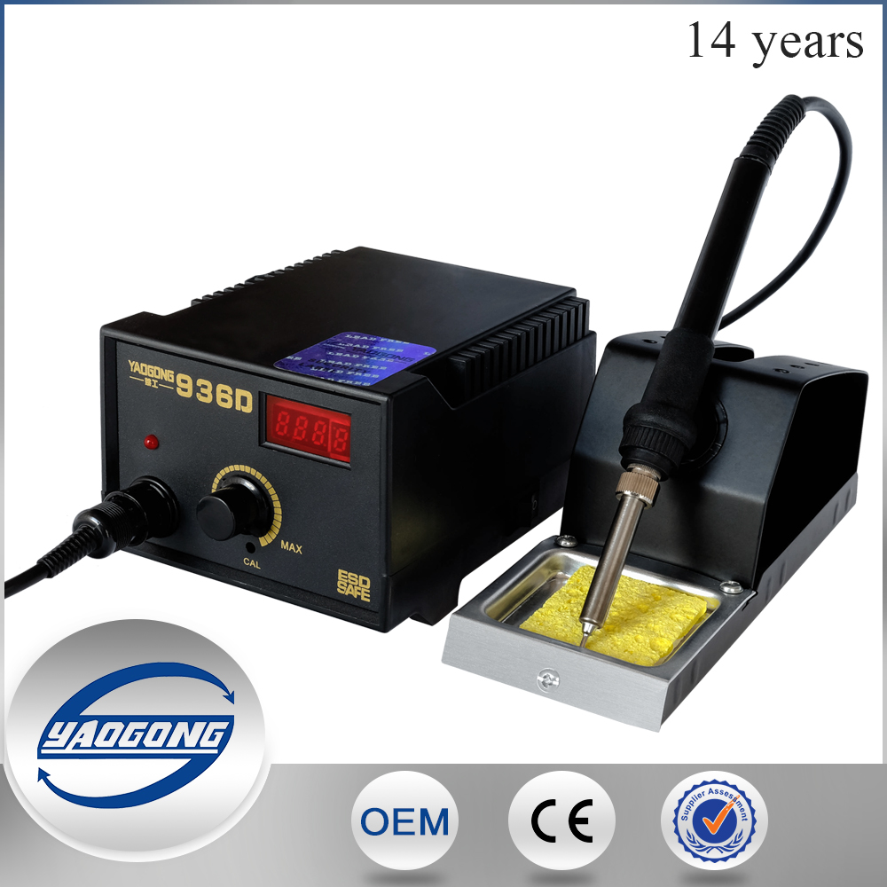 YAOGONG Big factory hotsale electric soldering iron for laser soldering iron top quality YD-936D