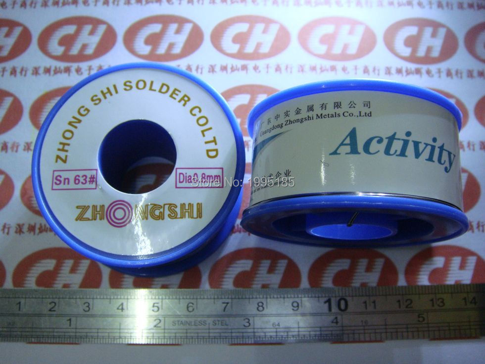 1PCS 100 Grams Wire Diameter 0.8MM Purity 63% Of Small Volume High Quality Soldering Line Active Solder Wire