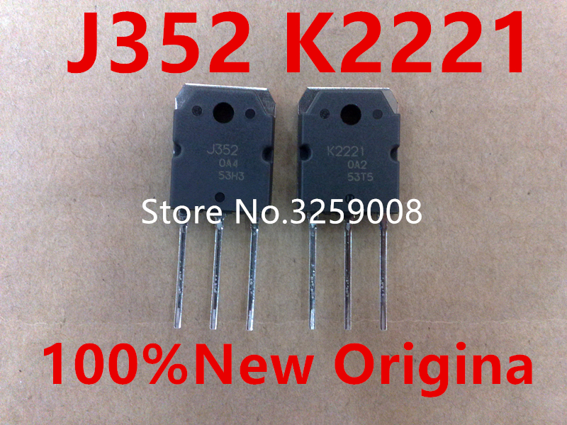 5 ADET 100% yeni ithal orijinal 2SJ352 2SK2221 J352 K22215 ADET 100% yeni ithal orijinal 2SJ352 2SK2221 J352 K2221