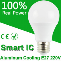 Top Quality LED Bulb Lamps E27 220V 240V Light Bulb Smart IC Real Power 3W 5W