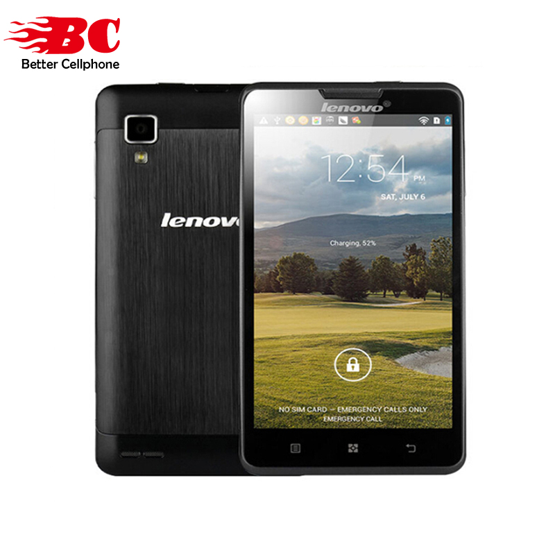 New 100% Original Lenovo P780 Android 4.4 MTK6589 Quad Core 4GB ROM 5.0'' HD 1280x720 WCDMA GPS OTG 4000mAh Russian Cell Phones