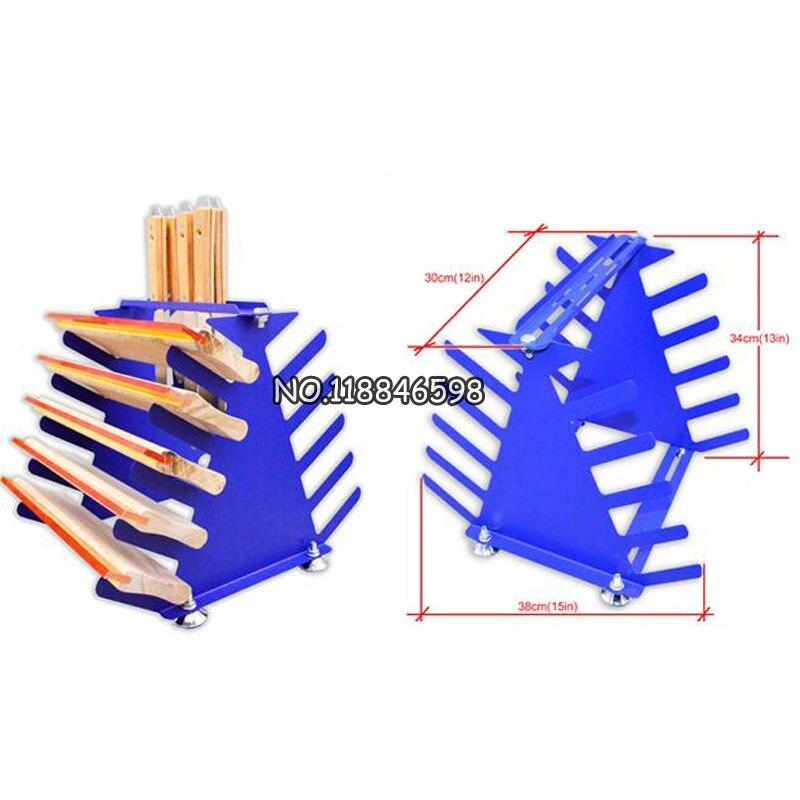 Silk Screen Printing Auxiliary Equipment Desktop Squeegee and Ink Scraper Rack Tool Rack for PrintingSilk Screen Printing Auxiliary Equipment Desktop Squeegee and Ink Scraper Rack Tool Rack for Printing
