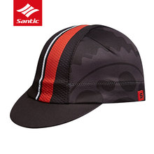 Santic Men Women Cycling Caps Windproof MTB Road Bike Head Wear Spring Summer Polyester Hats Free Size Outdoor Bicycle Clothing