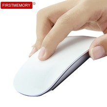 Firstmemory Wireless Touch Mouse Ergonomic Silent 2.4Ghz USB Optical Magic Mice 1200DPI Slim Mause For Apple Laptop Desktop PC