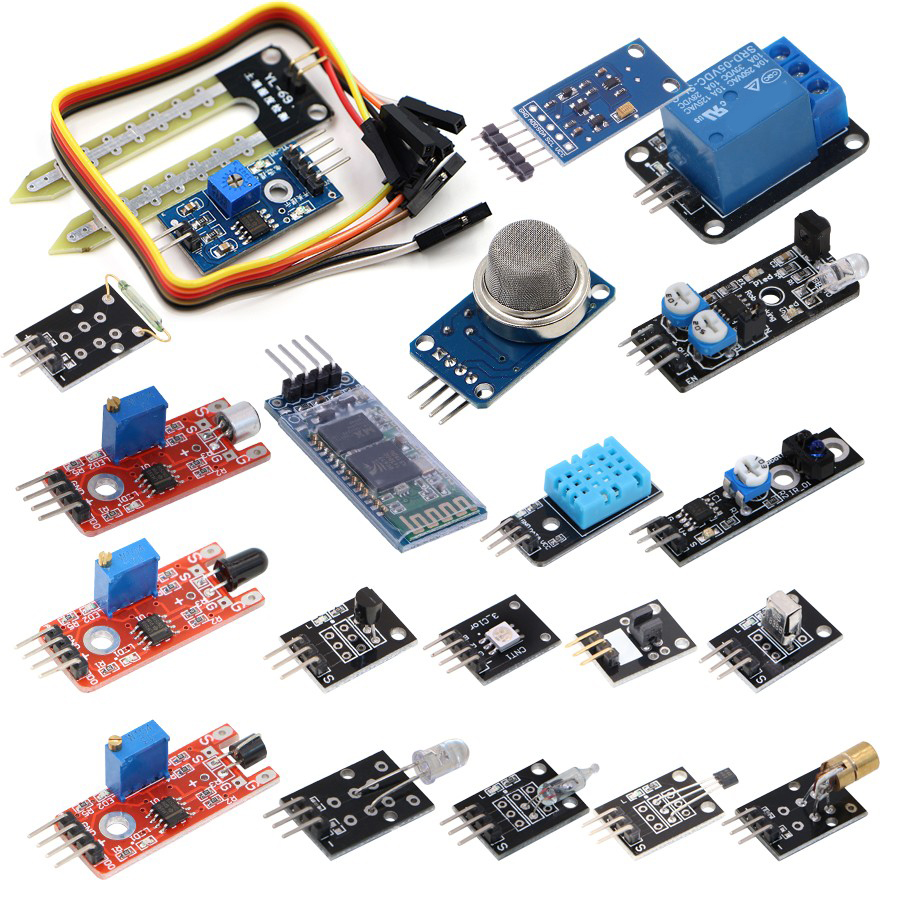 20 In 1 Sensor Kit Module DIY Starter Kit Free Shipping