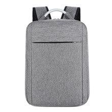 Fashion Man Nylon15.6 Inch Laptop Backpack Travel Bagpack School Bags For Teenage Boy Mochila Male Business Computer Backpacks цена