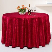 Hotel tablecloth fabric restaurant round table cloth square household tea