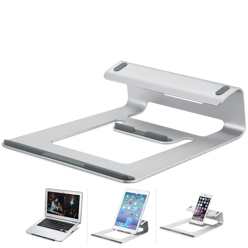 Fast Deliver Notebook Stand Support Mac Aluminum Alloy Laptop Stand Bed Lazy Lift Table Cooling Bracket Buy One Get One Free Furniture