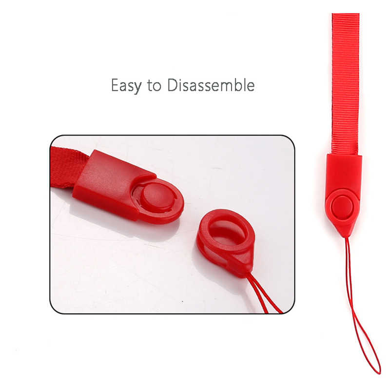 Черный многофункциональный поворотный шнурок длинный дизайн пряжка пластиковая веревка на шею мобильный телефон ремень веревка для iphone samsung Xiaomi