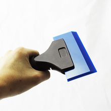 imported high quality Pro Squeegee Deluxe Handle with Blue Max Rubber Scraper blades MX-1558