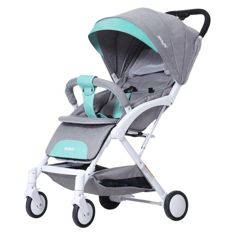 Baby carriage stroller lightweight Portable traveling pram kids buggy Can be on the plane folding kinderwagen children pram in Lightweight Stroller from Mother Kids