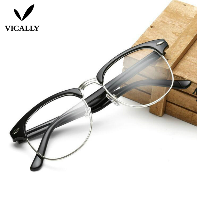 Hot μόδας Ρετρό Half-frame Γυαλιά Frame Άνδρες - Αξεσουάρ ένδυσης - Φωτογραφία 4