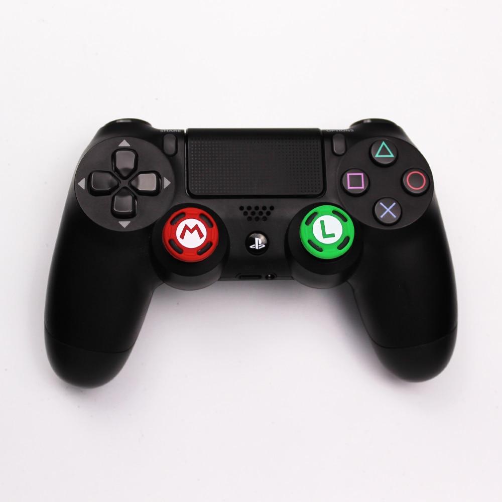 1PC Silicone Analog Thumb Stick Grips Caps For PS4 SLIM PRO XBOX X360 JoyCon Controller Sticks Cap Skin For Joy Con Cover