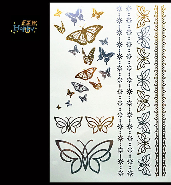 Flash temporary tattoos henna sticker  designs sexy products fashion body art fit women dress in party date ball daily life