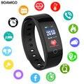 Reloj inteligente BOAMIGO marca pulsera bluetooth Frecuencia Cardíaca Monitorización del sueño para IOS Android Deporte fitness reloj