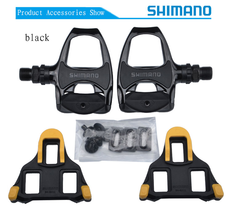 High Quality SHIMANO PD-R540 Road Bicycle Bike Pedal Cycling Lock Bicycle Pedal